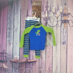 Other - boys faded glory dino pj set size 5T AN24